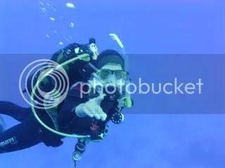 Hans als een vis onder water