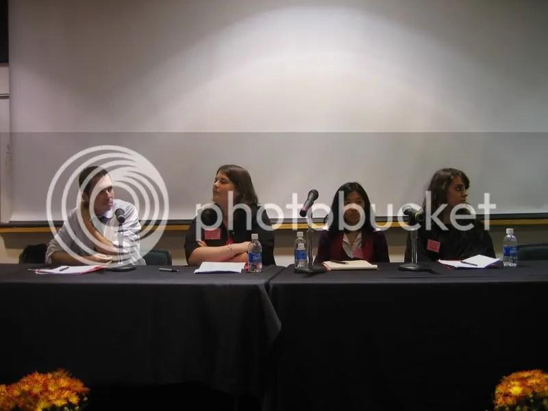 Chad Beckerman, Molly ONeill, Lisa Cheng, Lisa Ann Sandell