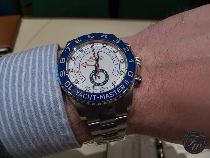 Rolex Yacht-Master II Stainless Steel