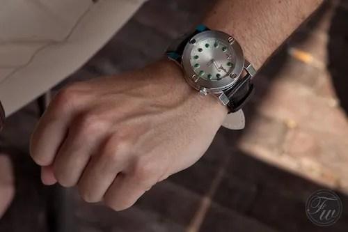 Chinese Timekeeper wristshot