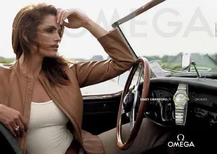 Cindy Crawford Omega