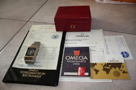 Omega Marine Chronometer MegaQuartz 2400