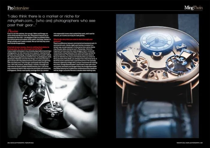 Ming Thein DigitalSLR Photography Magazine