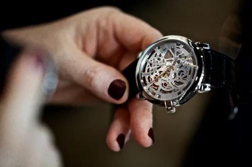 HW Midnight Skeleton Watch