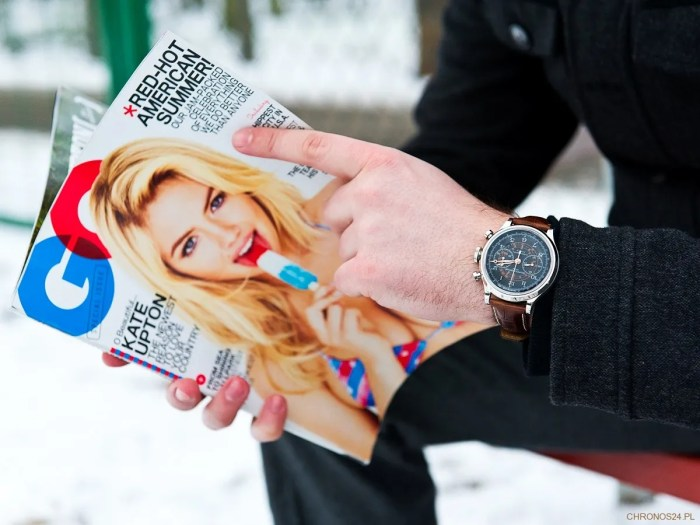 Baume & Mercier Capeland Chronograph and GQ Magazine