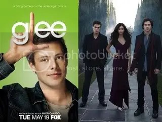 Glee and The Vampire Diaries