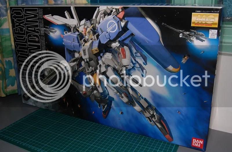 MG Ex-S Gundam | Wcloudx (kumo)'s Blog - Ramblings about Figures