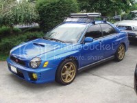2002 WRX Sedan - Roof rack questions - NASIOC