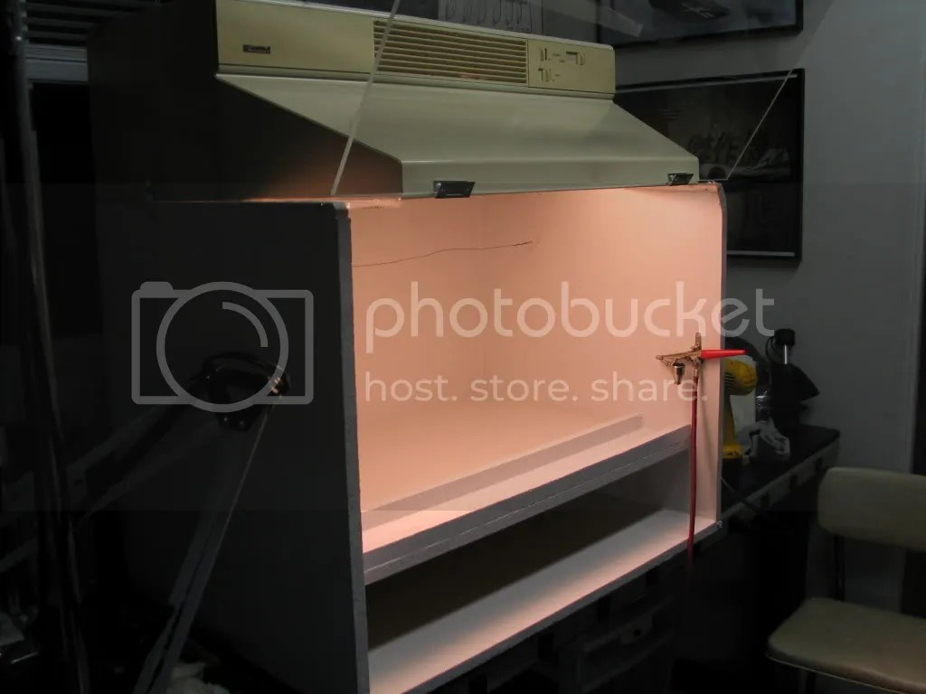 make your own spray booth