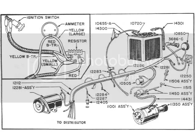 Ford 9n tractor parts diagram
