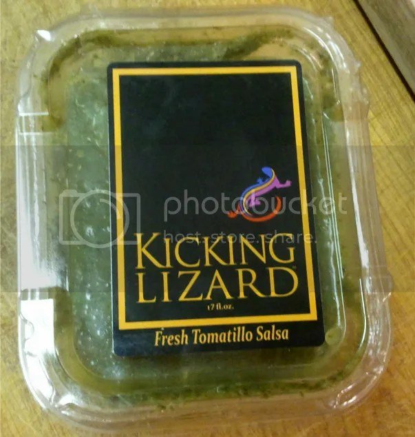 Kicking Lizard Tomatillo Salsa