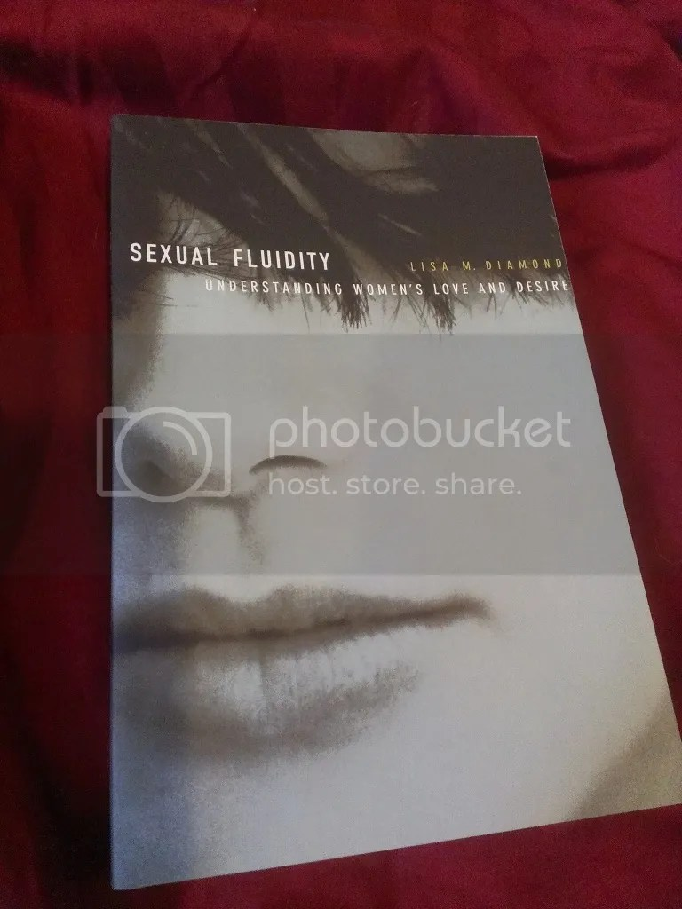 Our copy of Sexual Fluidity, I haven't read it yet