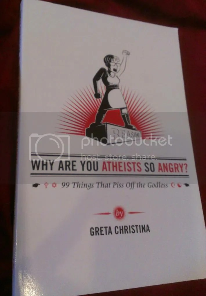 Why Are You Atheists So Angry, Cover