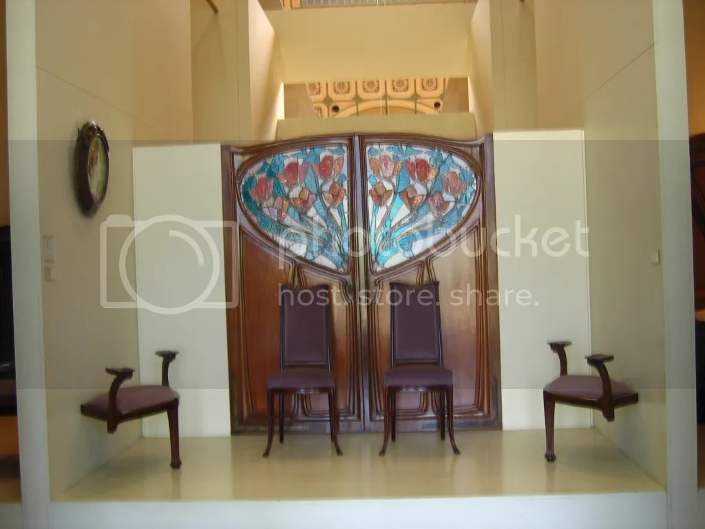 Art Nouveau Doors, Chairs