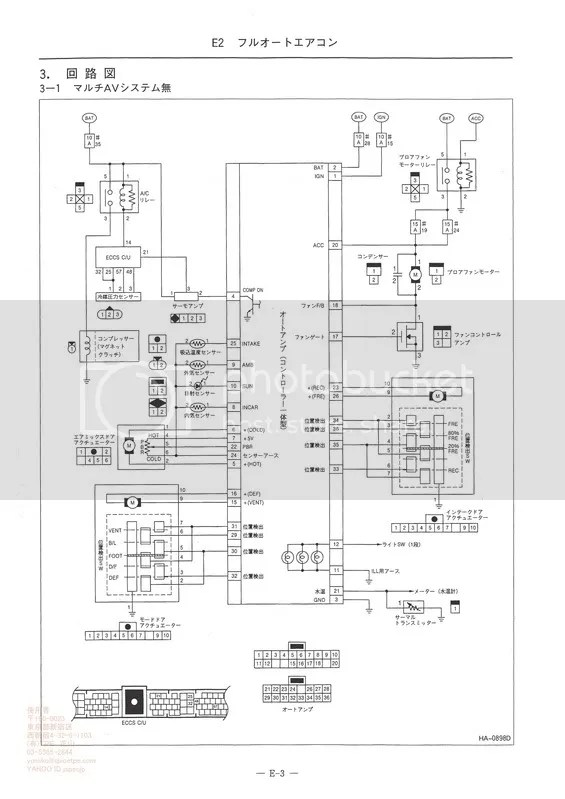 rb25det s2 wiring diagram vn v8 ecu series 2 xanavi climate control to standard conversion - wagoneers sau community