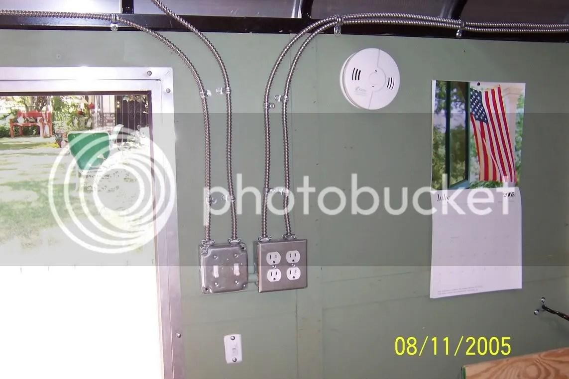 Enclosed Trailer Ac Wiring Trucks Trailers Rv39s Toy Haulers