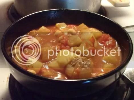 eggplant stew bowl