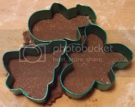 gingerbread cookies cutout