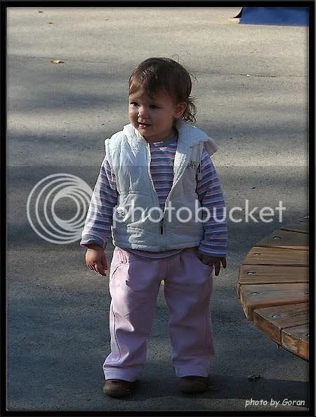 Anja u šetnji