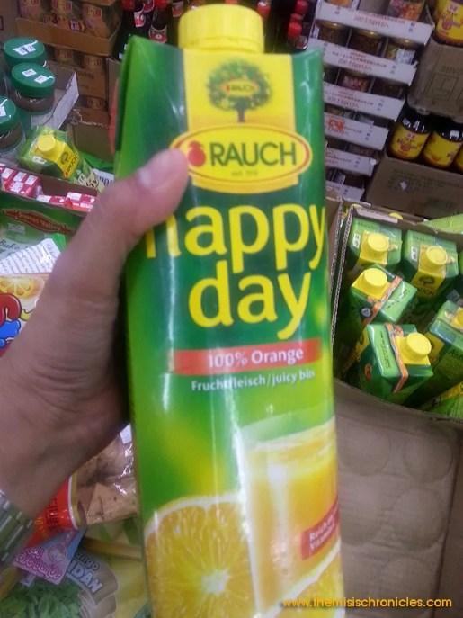 Rauch Happy Day Orange Juice