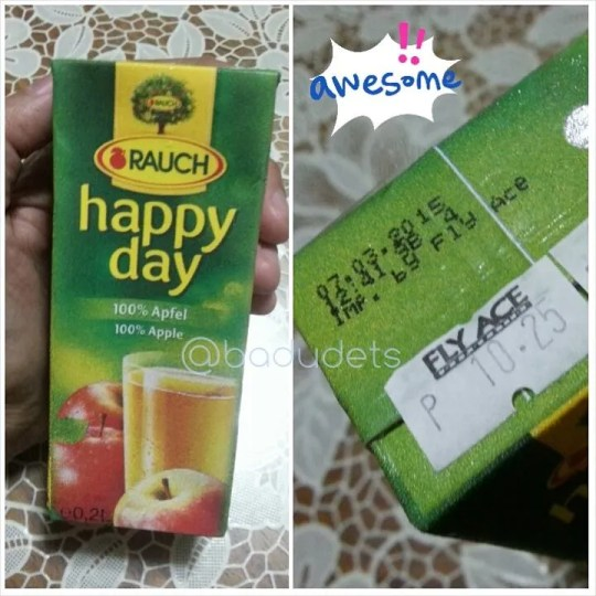 Rauch Happy Day in small tetra packs