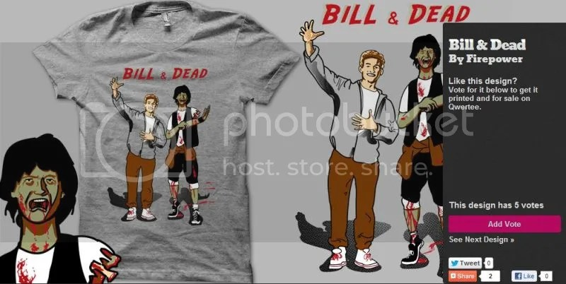 Qwertee Bill and Dead