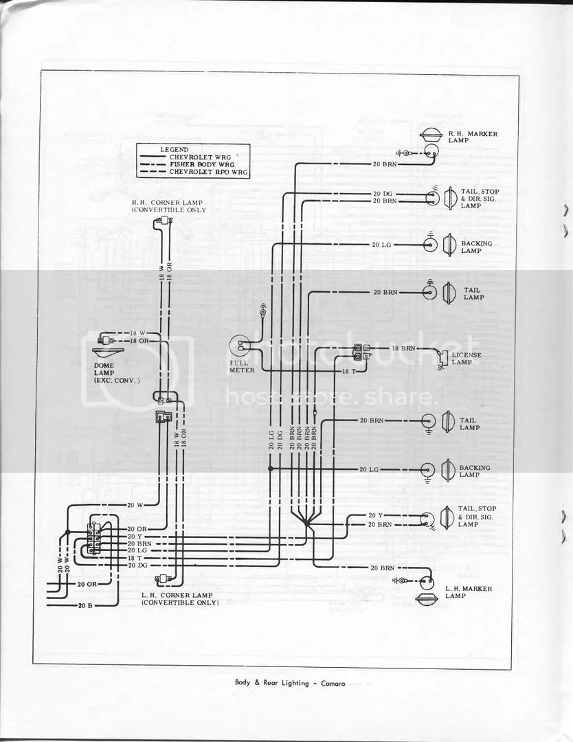 1967 Camaro Wiring Schematic : 28 Wiring Diagram Images