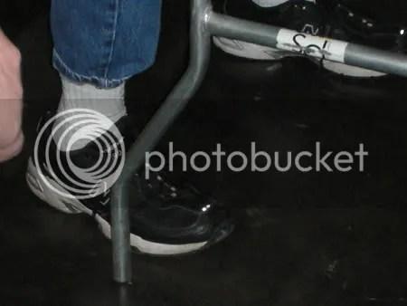 Stan Hansens shoe