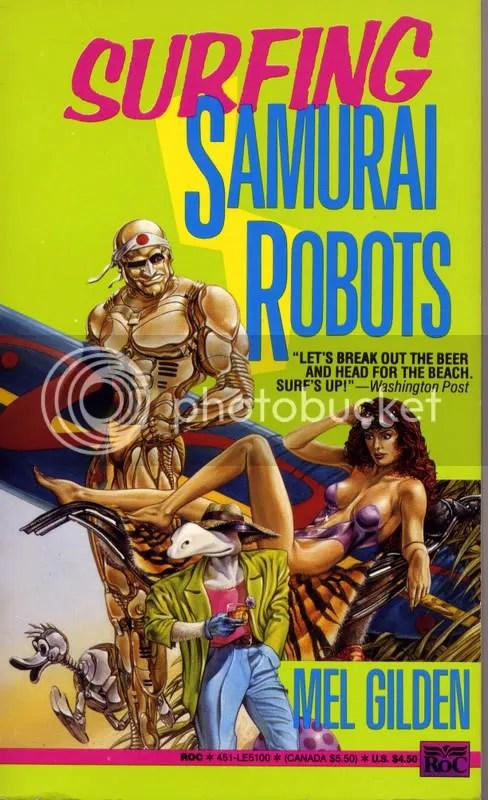 Surfing Samurai Robots