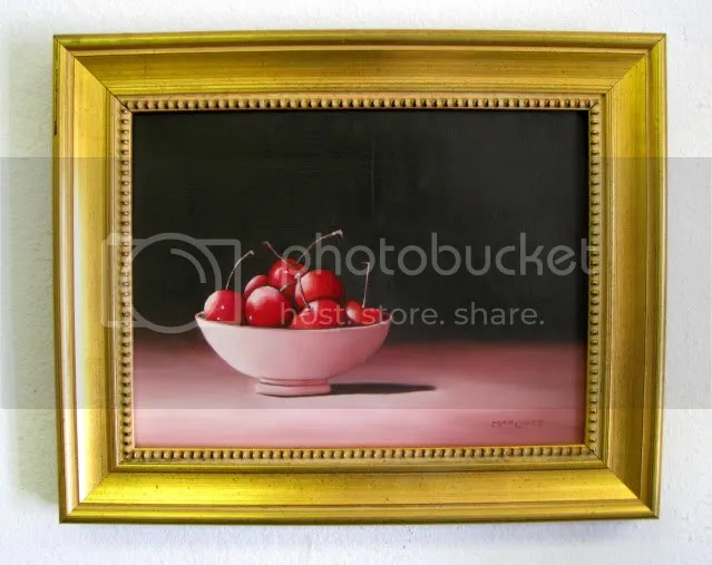 bowl of cherries photo: Bowl of Cherries cherries-framed.jpg