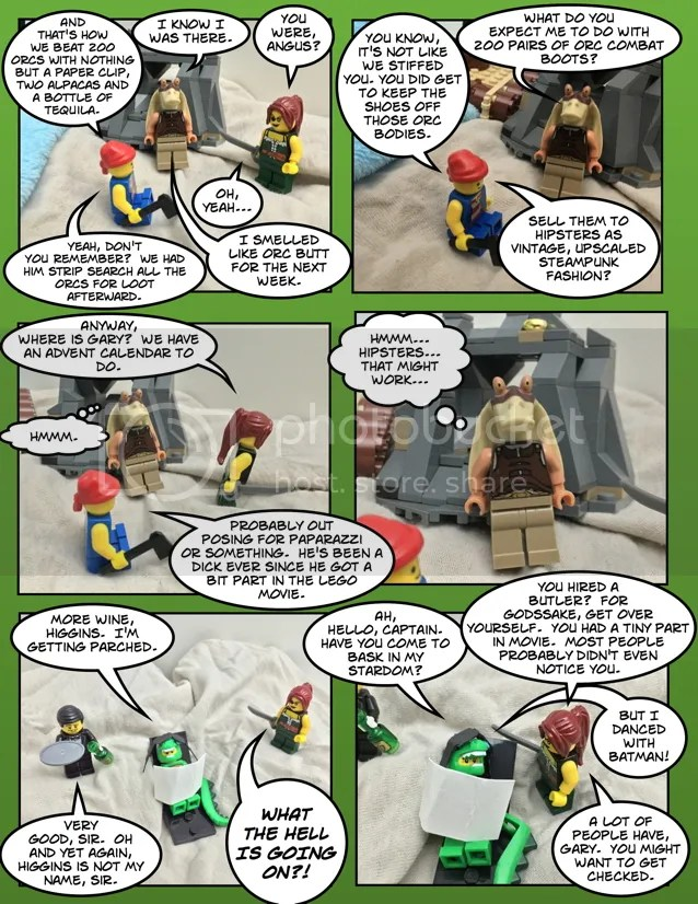 Advent Comics 2014 Day 1 Page 1