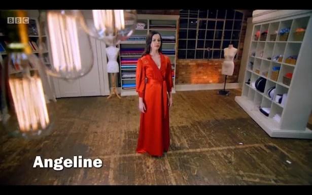 Angeline's robe