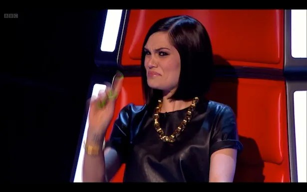 Schoolmistress Jessie J is not pleased