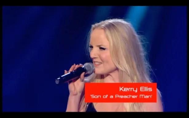 West End Leading Lady Kerry Ellis sings