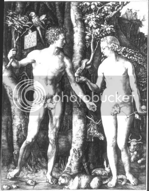 Albrecht Durer- Adam and Eve
