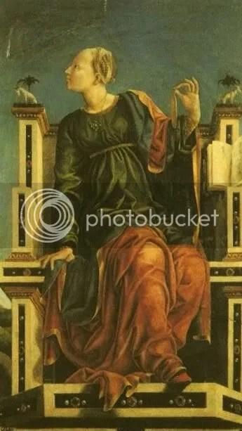 Urania- Ferrara, Cosme Tura disciples