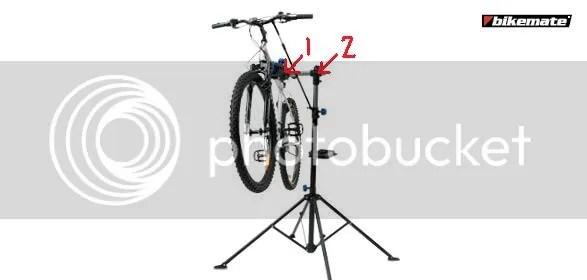 Bicycle Repair: Aldi Bicycle Repair Stand