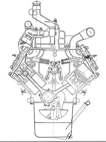 Flathead V8 Engine Exploded Diagram Flathead Ford