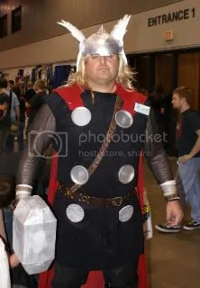 The God of Thunder requires mead and wenches.  Mostly wenches.