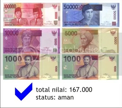 formasi duit aman