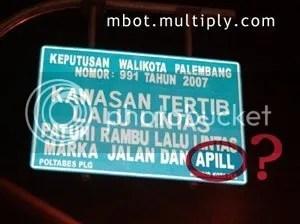 Rambu APILL