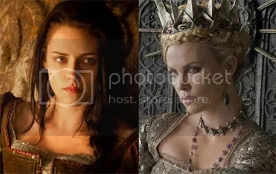 Snow White Kristen Stewart Charlize Theron
