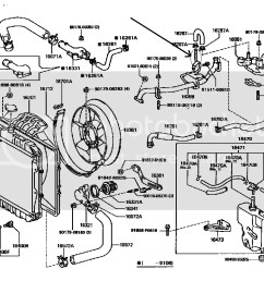 toyota 3vze engine coolant flow diagrams product wiring diagrams u2022 toyota 3 0 diesel engine 1990 [ 1206 x 864 Pixel ]