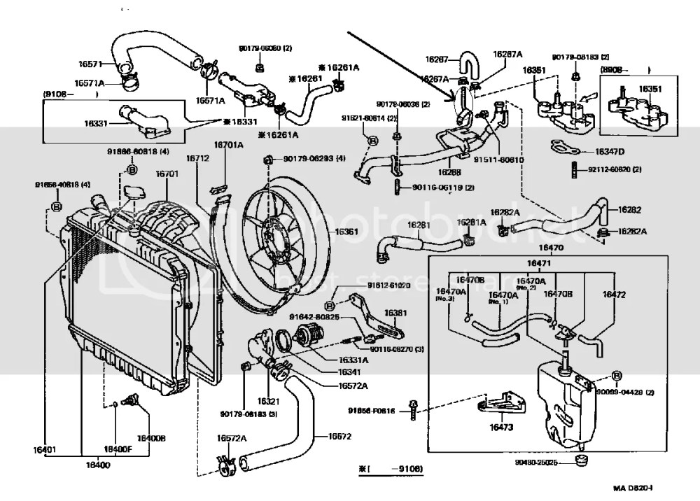medium resolution of toyota 3vze engine coolant flow diagrams product wiring diagrams u2022 toyota 3 0 diesel engine 1990