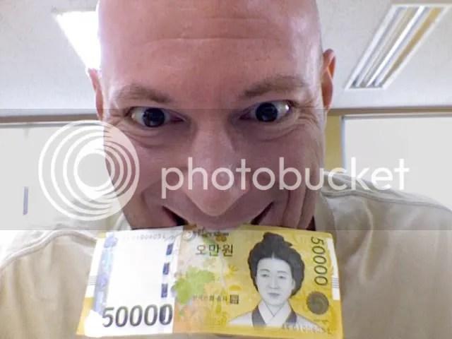 50,000 Won BABY!