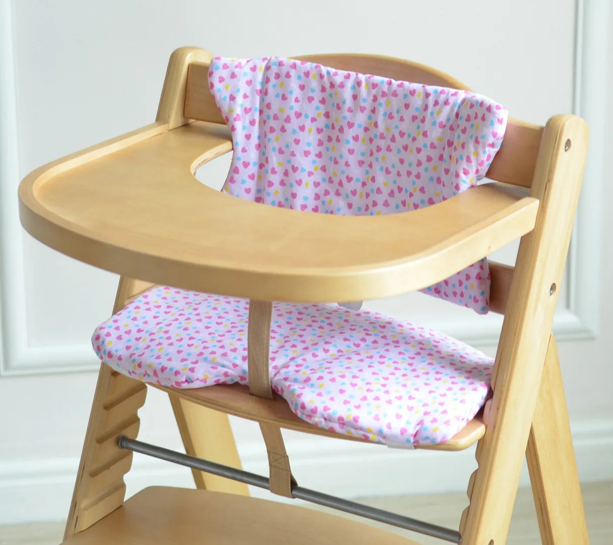 Food Chair Mcc Brand New Height Adjustable Wooden Baby High Chair