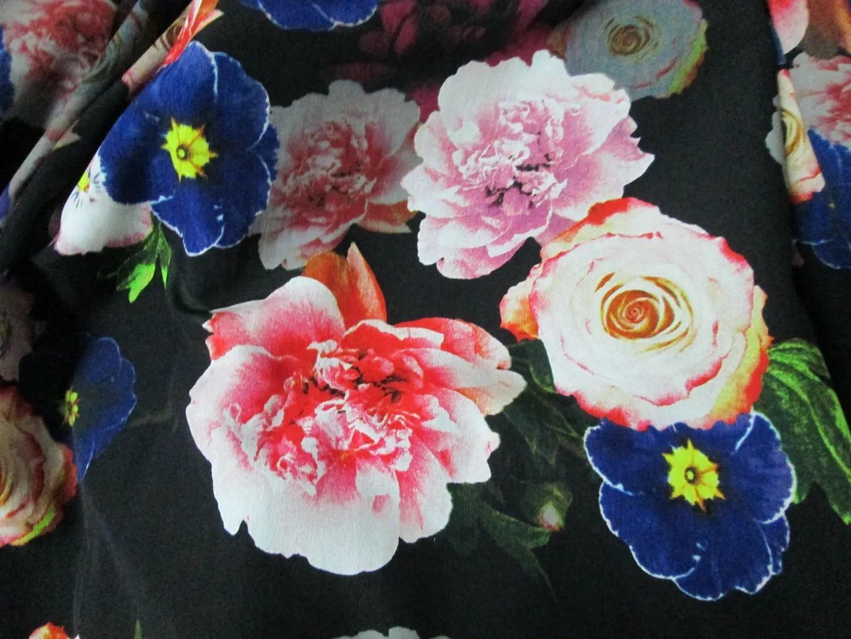 evans scarlett & jo floral prom dress