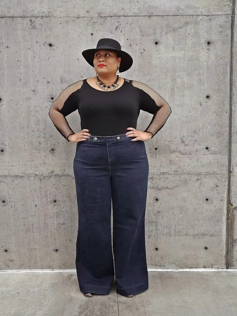 wide-leg jeans | tutus and tiny hats