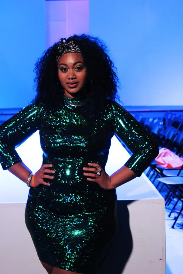 plus size outfit green emerald sequin dress bodycon