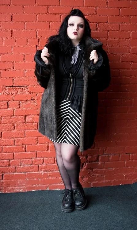 plus size 1940s vintage outfit